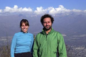 Daniela Ivars y Matías Knust, director de CIFREP